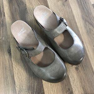Dansko Clogs/Mules Pewter Gray 39/9